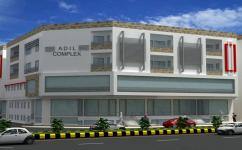 86.5 Sq Ft Prime Location Ground Floor Commercial Shop For Sale on Installments in Adil Complex