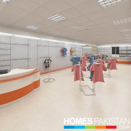 458 Sq Ft Fine Location Shop For Sale On Installments