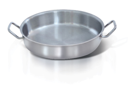 SHALLOW SAUTE PAN WITH HANDLES