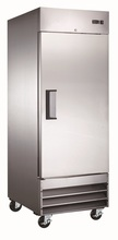 Reach In FRIDGES with Solid Doors