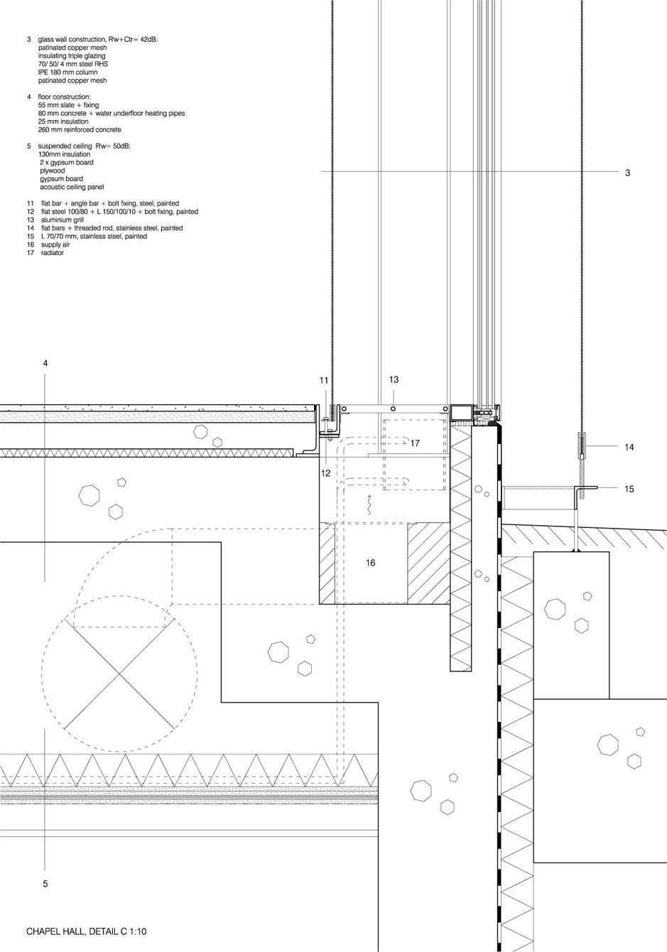 Avanto Architects Chapel Of St Lawrence Details