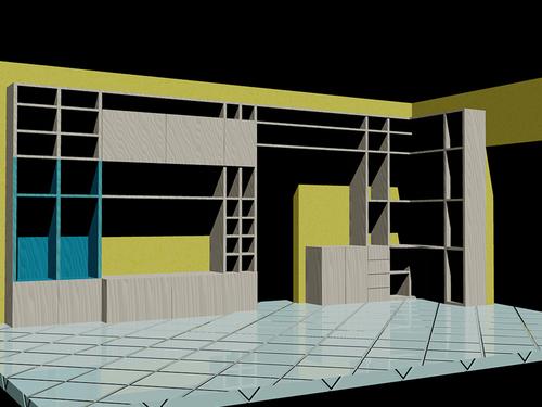 Arch fabrizio macagno progettazione mobili per studio for Mobili per studio