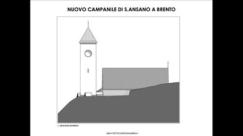 Architetto Cristina Marchi — Nuovo Campanile della Chiesa di S. Ansano a Brento