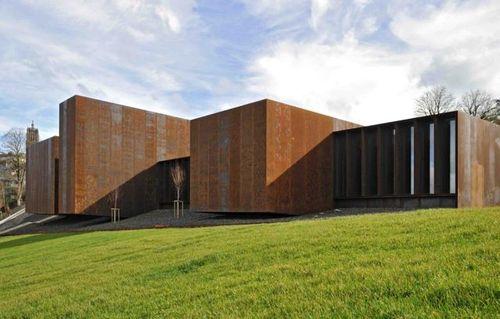 rcr arquitectes soulages museum. Black Bedroom Furniture Sets. Home Design Ideas