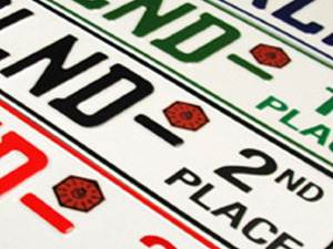Pacific Waterland Car Show Plates