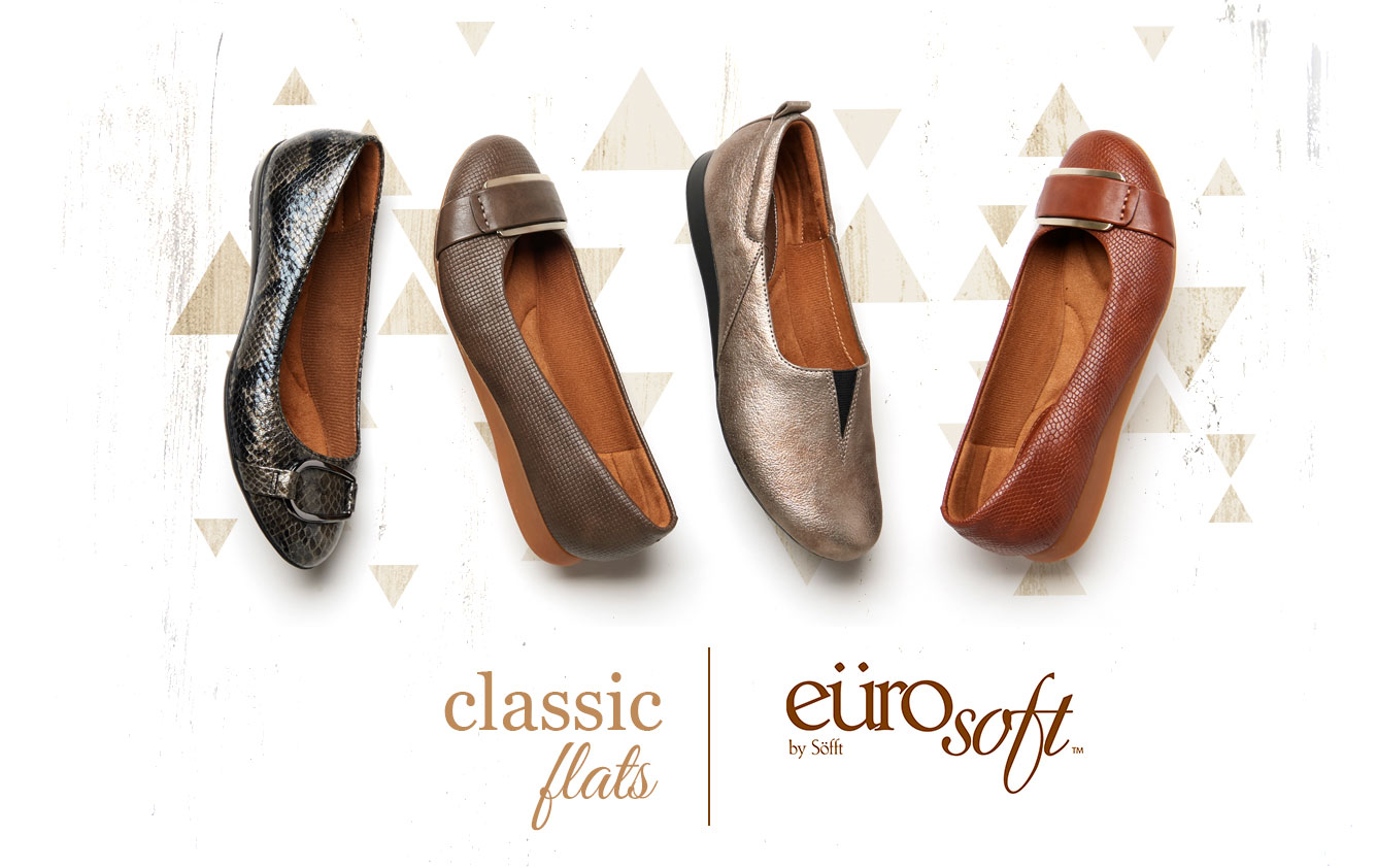 Classic Flats. Eurosoft by Sofft. Shop All Styles