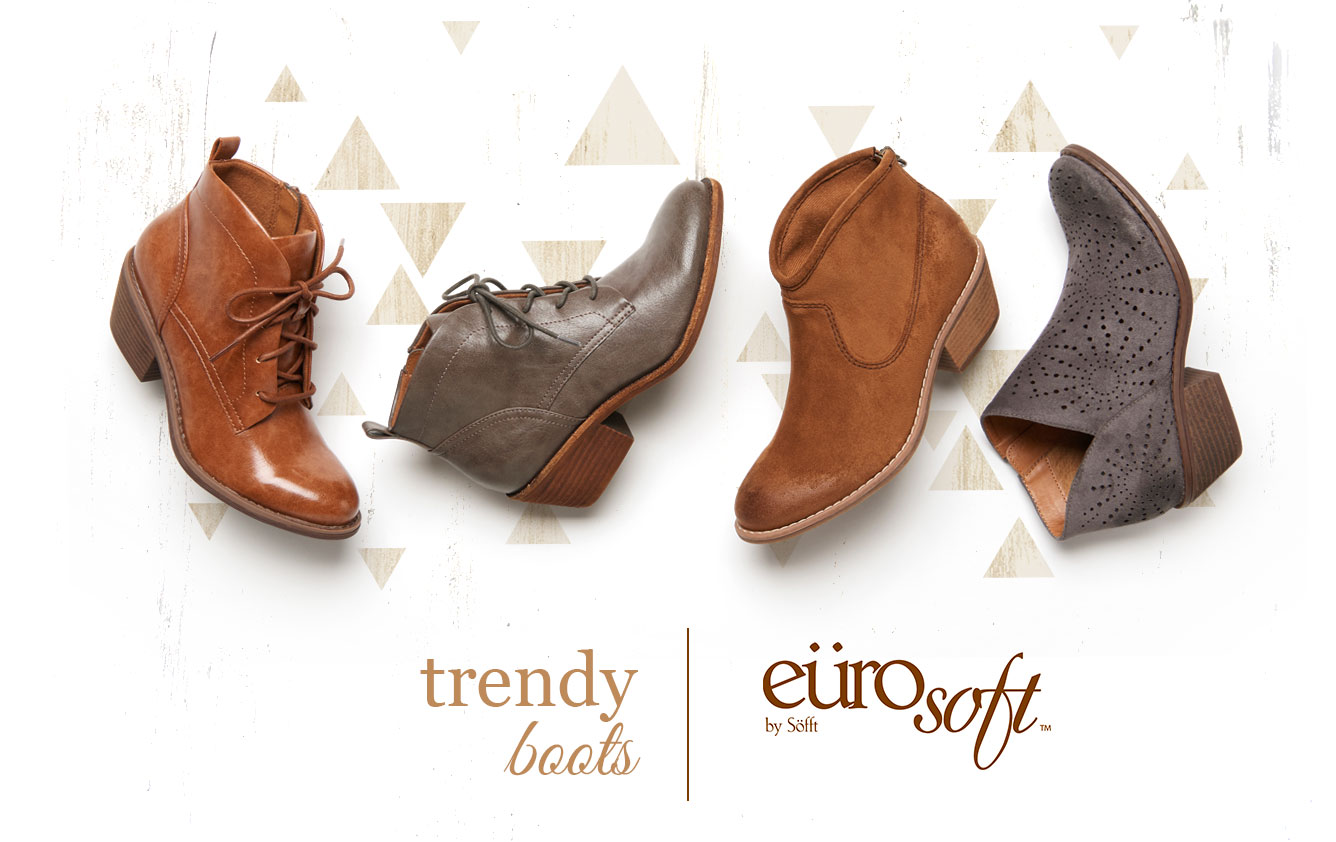 Trendy boots. Eurosoft by Sofft. Shop All Styles