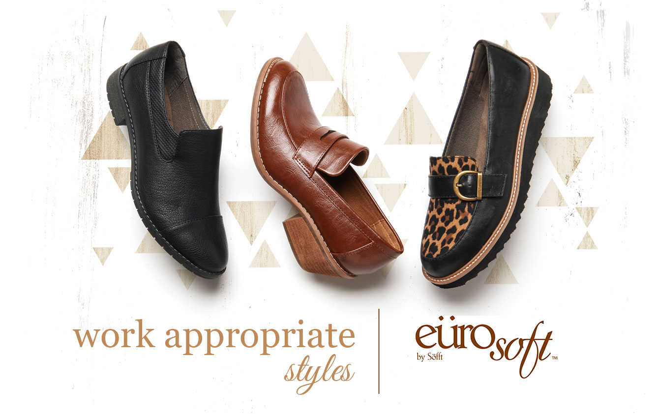 Work appropriate styles. Eurosoft by Sofft. Shop All Styles