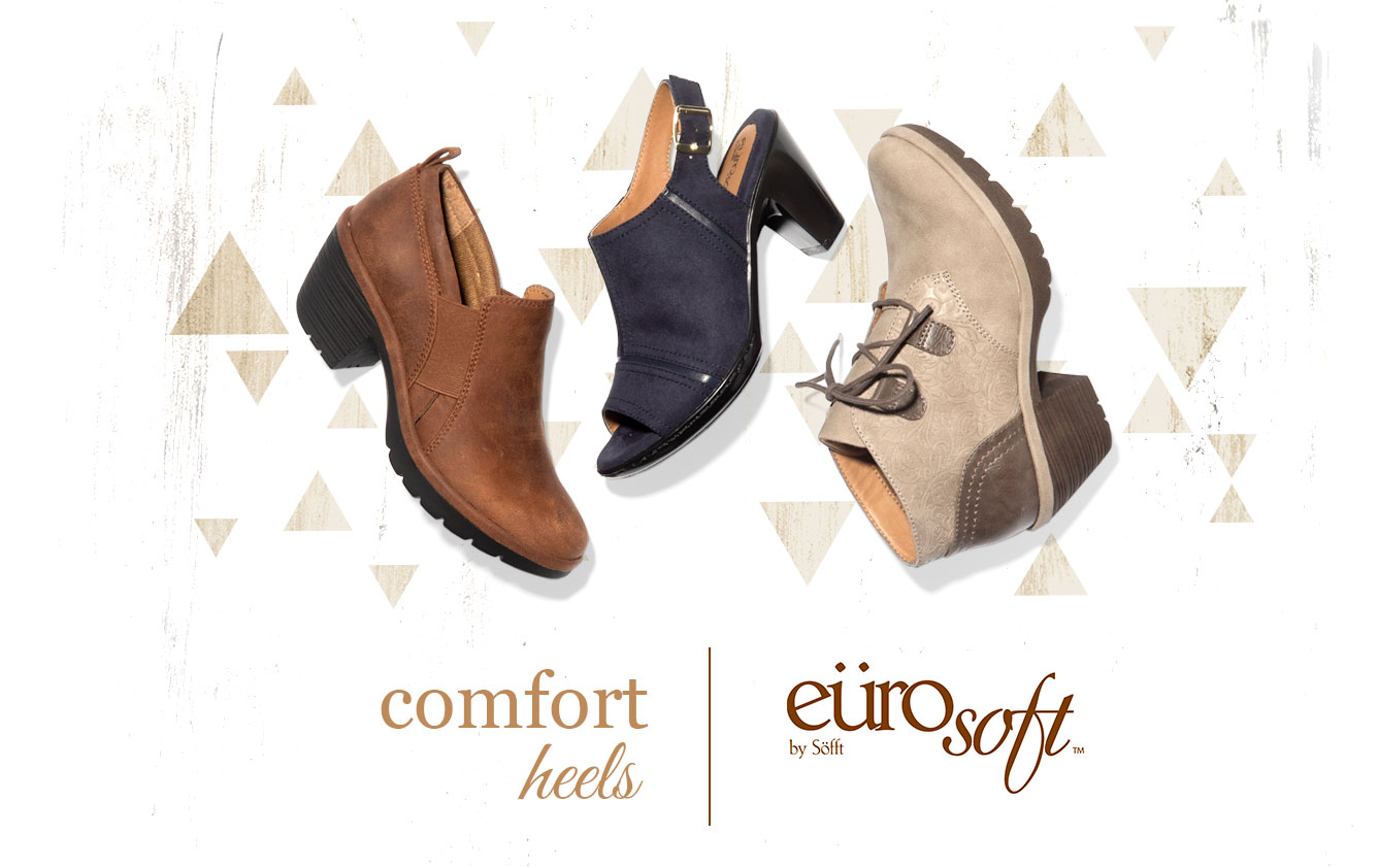 Comfort Heels. Eurosoft by Sofft. Shop All Styles