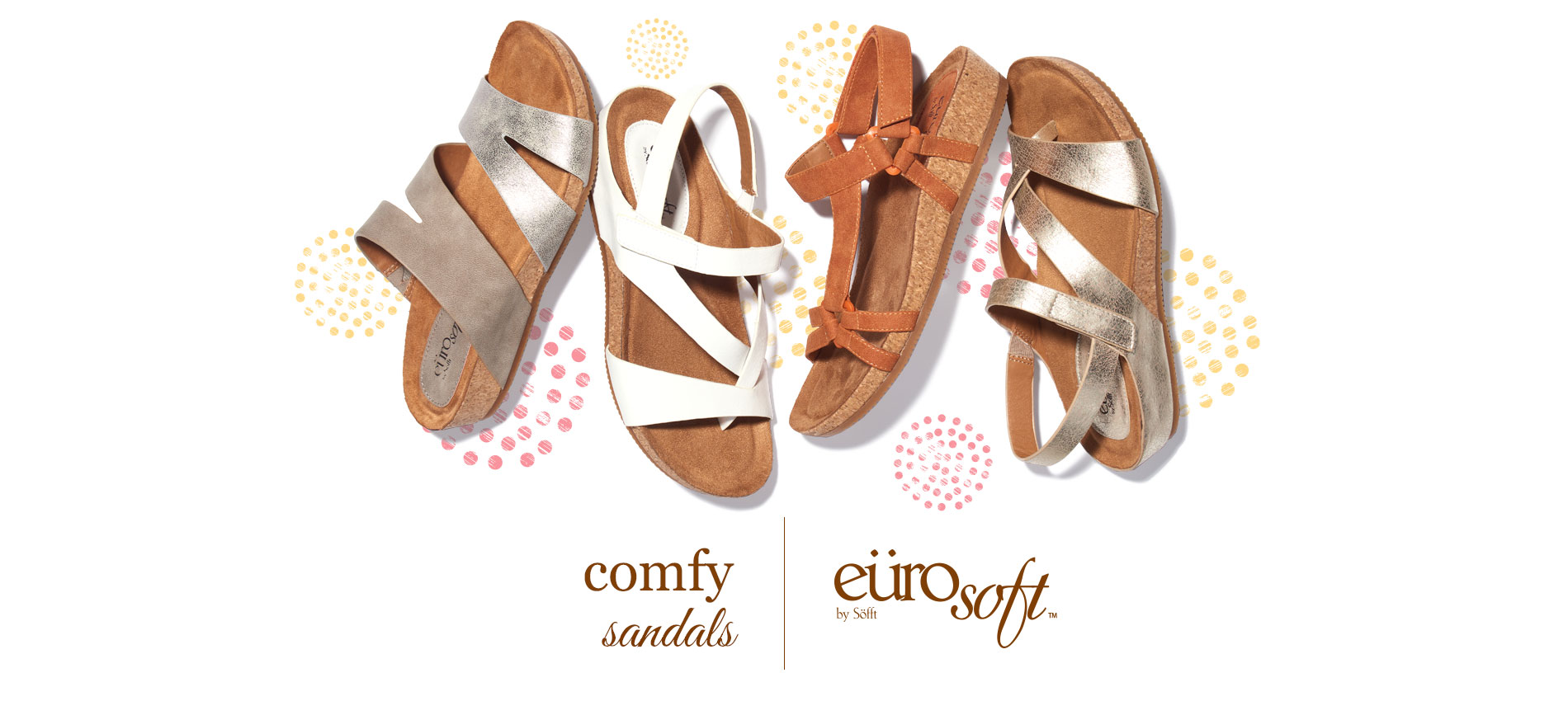 Comfy Sandals. Eurosoft by Sofft. Shop All Styles