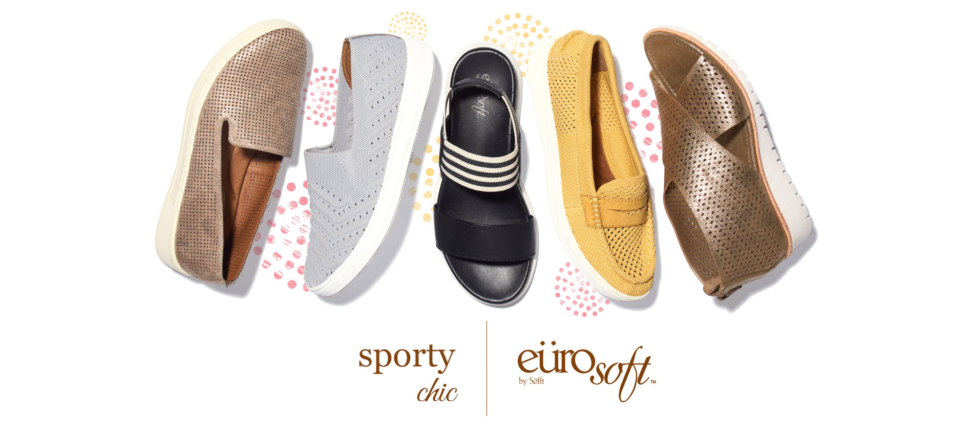 Sporty Chic. Eurosoft by Sofft. Shop All Styles