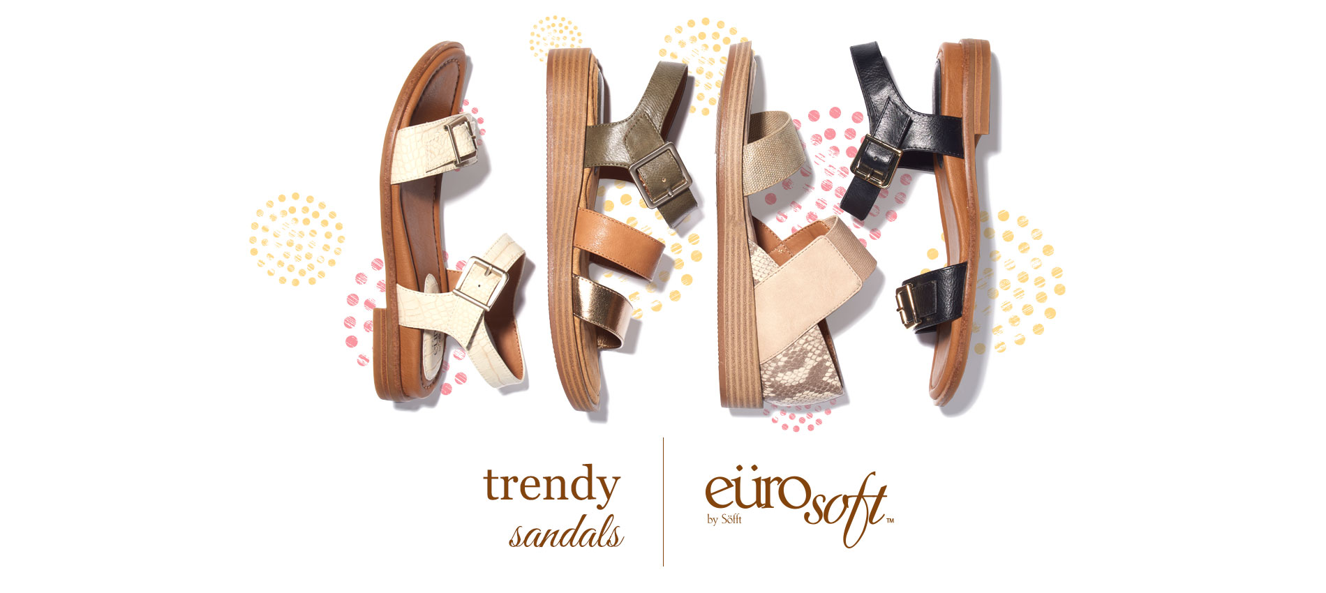 Trendy Sandals. Eurosoft by Sofft. Shop All Styles