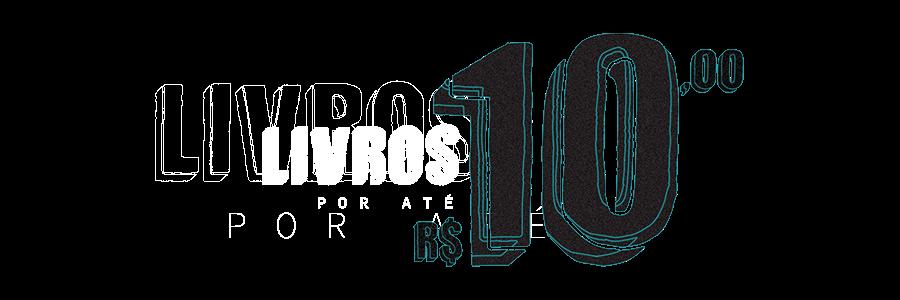 Livros por até R$10,00
