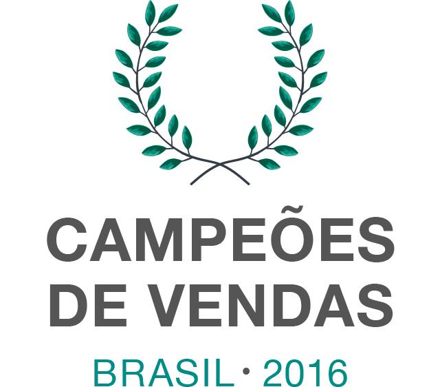 Campeões de vendas no Brasil em 2016