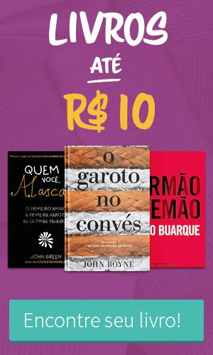 Livros até 10 reais