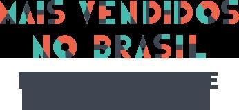Mais vendidos no brasil: Padre Marcelo e Augusto Cury