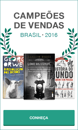 Livros campeões de vendas no Brasil em 2016.