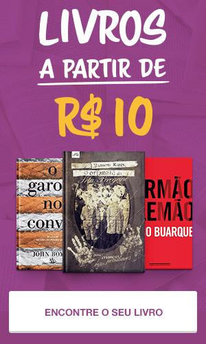 Livros a partir de 10 reais.