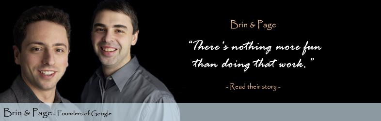 Sergey Brin's Home Page