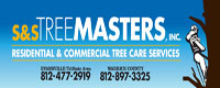 Website for S & S Tree Masters, Inc.