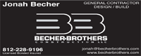 Website for Becher Brothers Construction, LLC