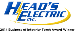 Website for Head's Electric, Inc.