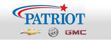 Website for Patriot Chevrolet, Buick, GMC
