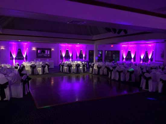 California Up Lighting Rental