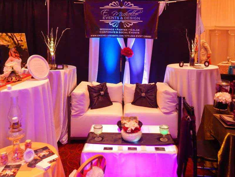 Bridal expo booth example
