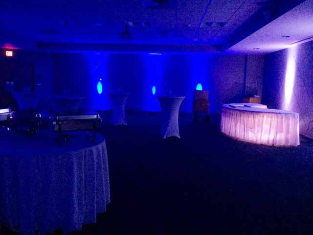 30 Lights Set Up For A Party