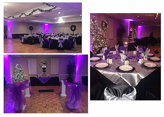 Lansing new years eve wedding