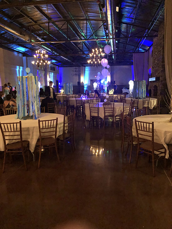 North Carolina Up Lighting Rental