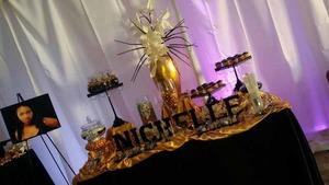 Thumb event table lighting