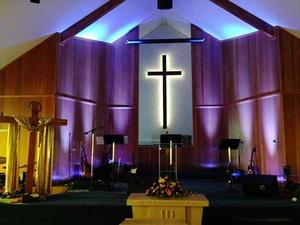 Thumb church lighting
