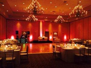 Thumb wedding ceremony lighting
