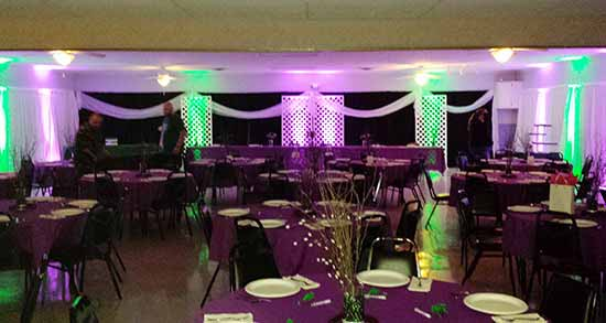 Ohio Up Lighting Rental