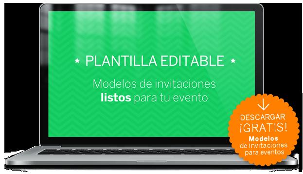 Modelos de invitaciones para eventos