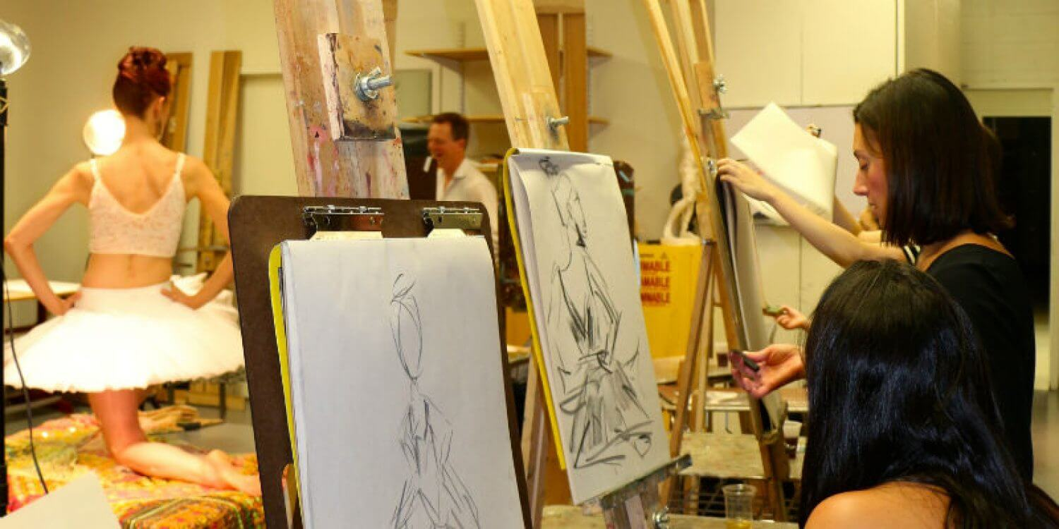 Drink and Draw with the Gallery Girls