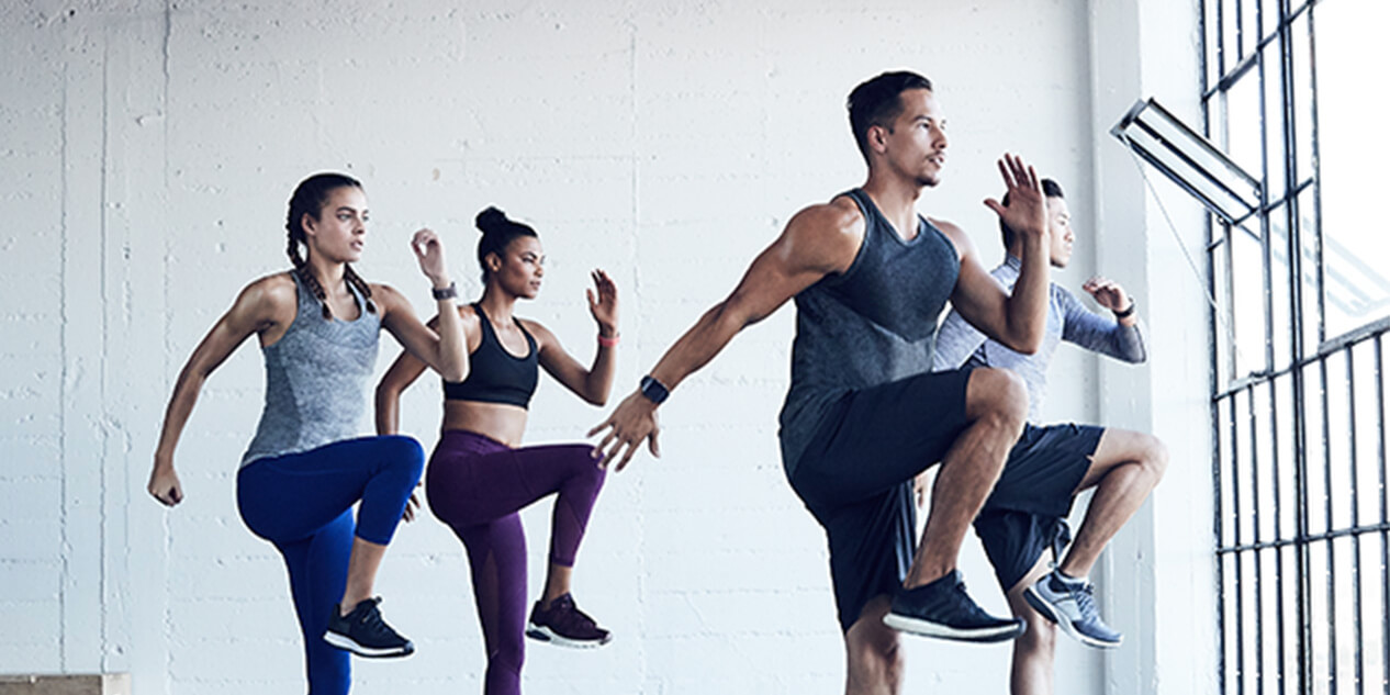 Fitbit Local Resolutions HIIT and Flow