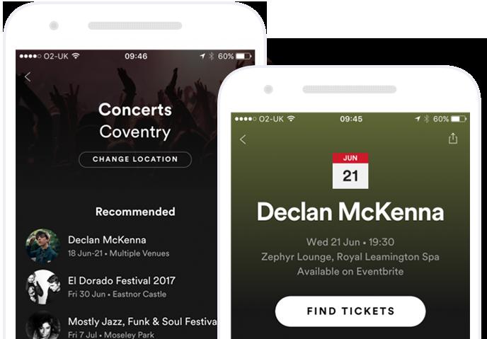 Organizer app screenshot