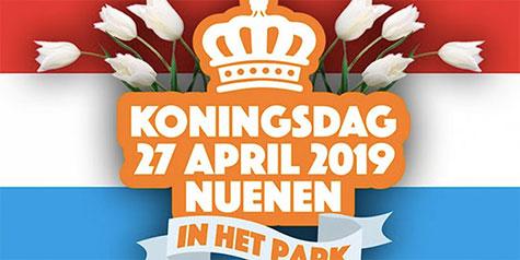 Oranje markt - Koningsdag 2019 - Nuenen