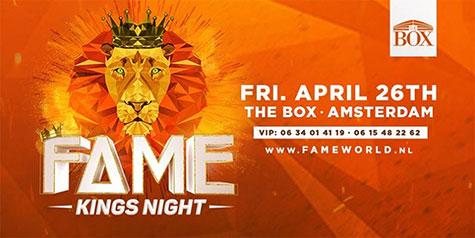 FAME Kingsnight | The BOX, Amsterdam