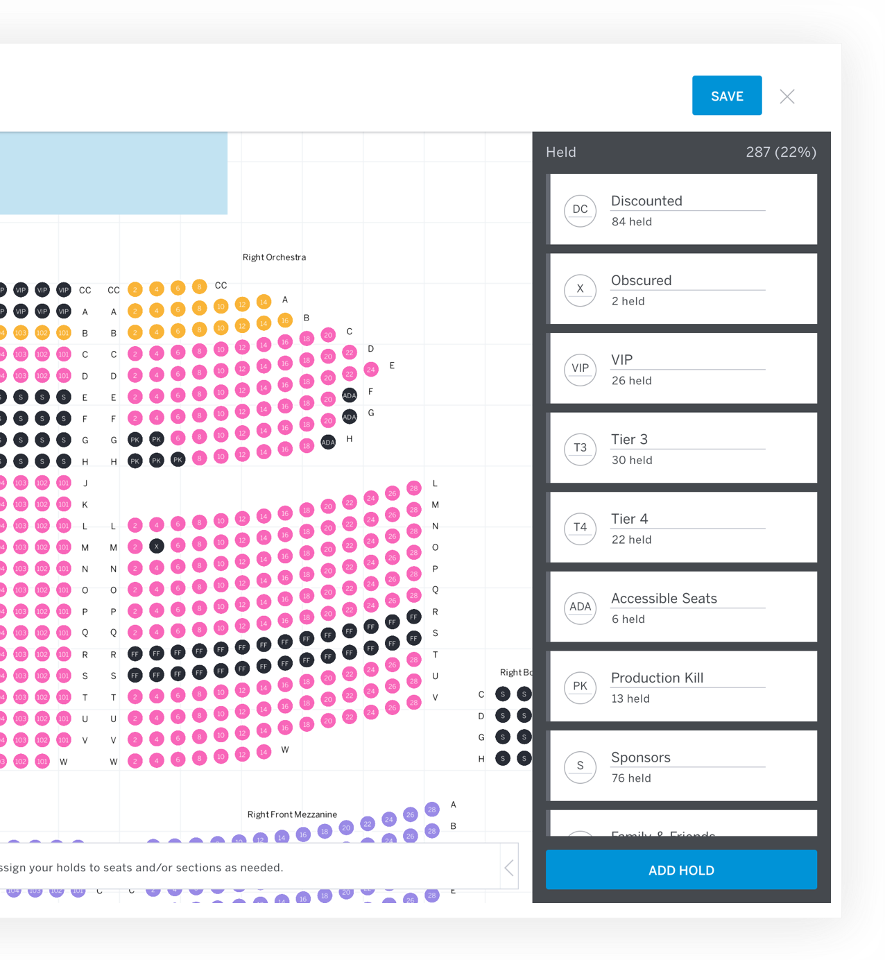 reserved seating event ticketing eventbrite