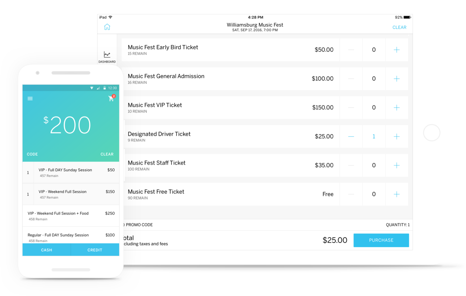 Organizer App Voor Inchecken Eventbrite