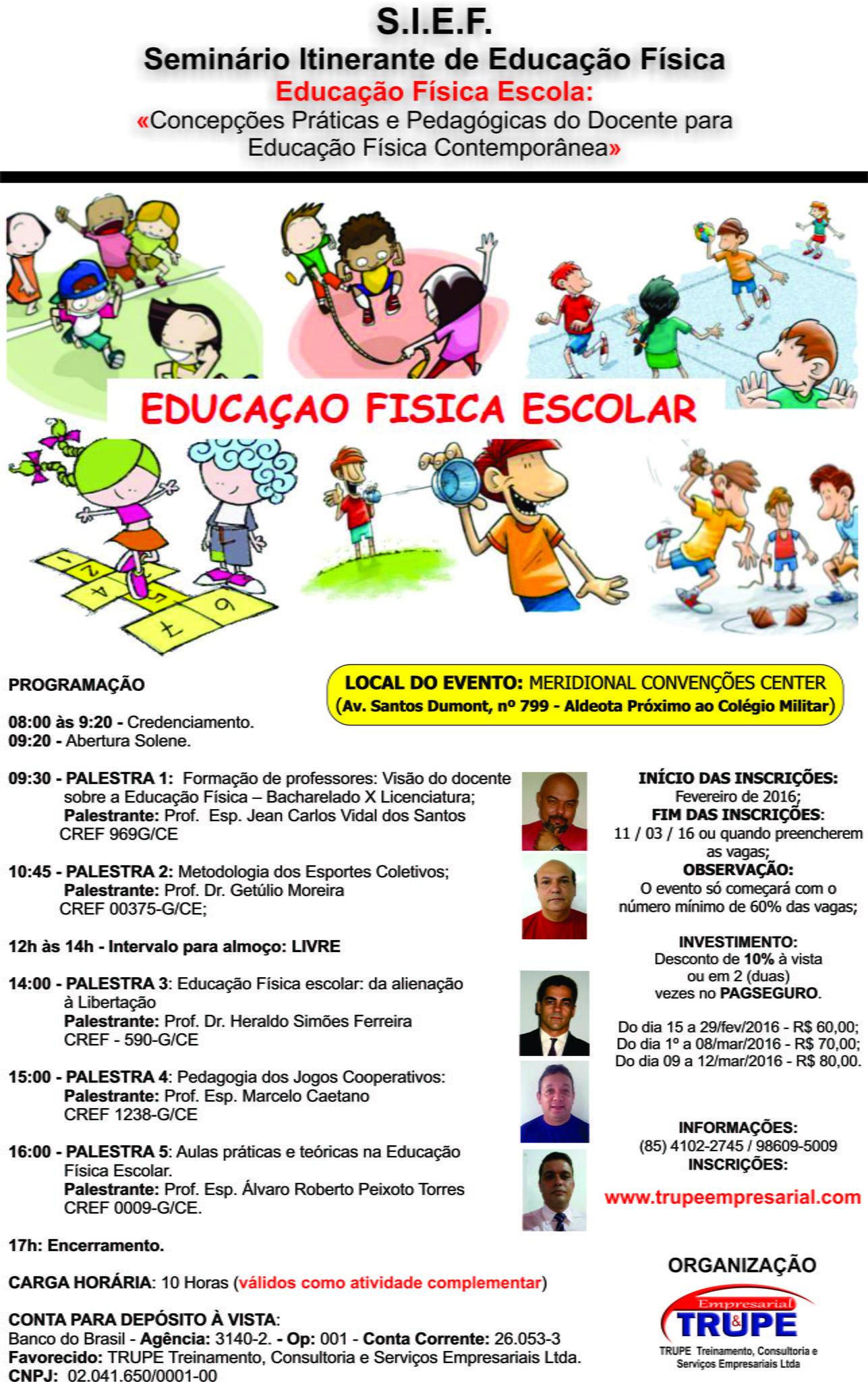 Com FOTO   SEMINÁRIO ITINERANTE DE EDUCAÇÃO FÍSICA - cartaz.jpg