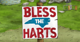 """""""BLESS THE HARTS""""</br> TABLE READ AND PANEL"""