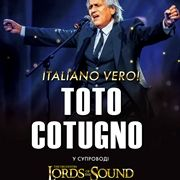 TOTO COTUGNO. Lords of the Sound. ITALIANO VERO