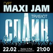 Триб'ют «Сплин» – гурт «Maxi Jam»