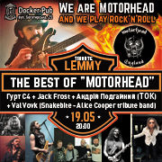 Tribute LEMMY the best of MOTORHEAD