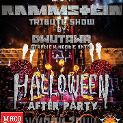Rammstein Tribute Show. Halloween Afterparty